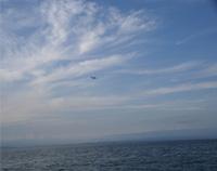 [画像]明石方面には関西空港がかすかに見えます。
