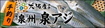手釣り泉州泉アジ